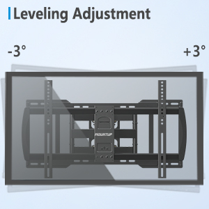 Leveling Adjustment 70 Inch TV Wall Mount
