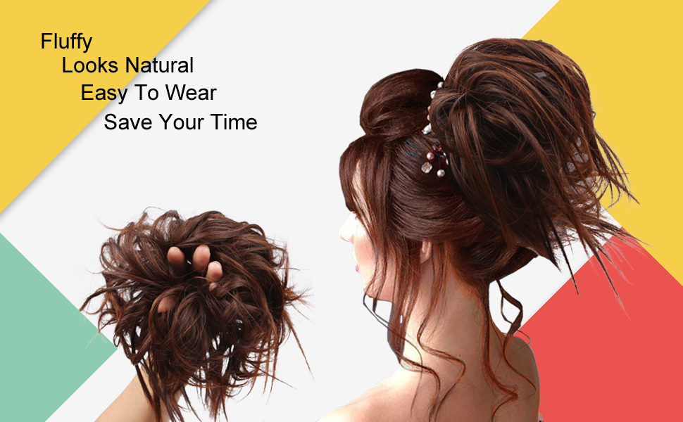 Tousled Updo Hair Pieces