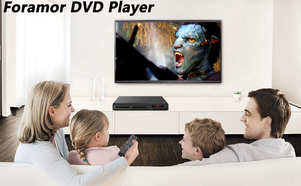 foramor dvd player