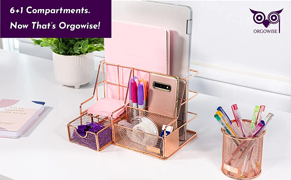 6+1 Compartments. Now That's Orgowise!