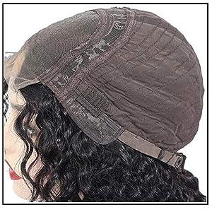 human hair deep wave wigs