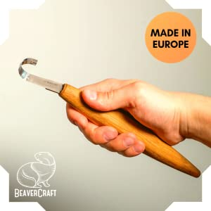 spoon carving hook knife
