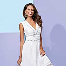 Image of woman in white dress.
