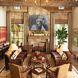 evanescence staging living room home decor western rustic