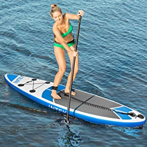 INTEY Tabla Paddle Surf Hinchable 305×76×15cm, Sup Paddle Remo ...