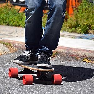 cruiser skateboard, bamboo longboard, mini longboard, penny skateboard, pennyboard, nickel board