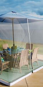 Mosquito Canopy for Umbrella
