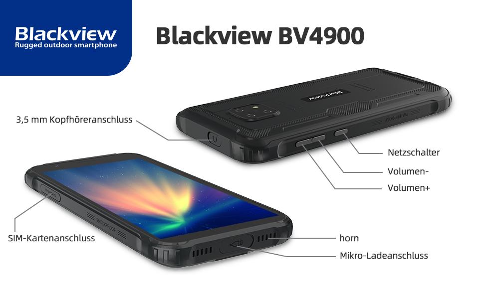 Blackview bv4900 outdoor handy ohne vertrag