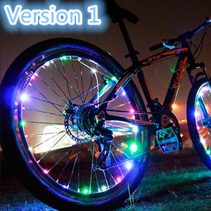 Bodyguard Bike Wheel Lights Waterproof Ultra Bright 2... Auto Open and Close