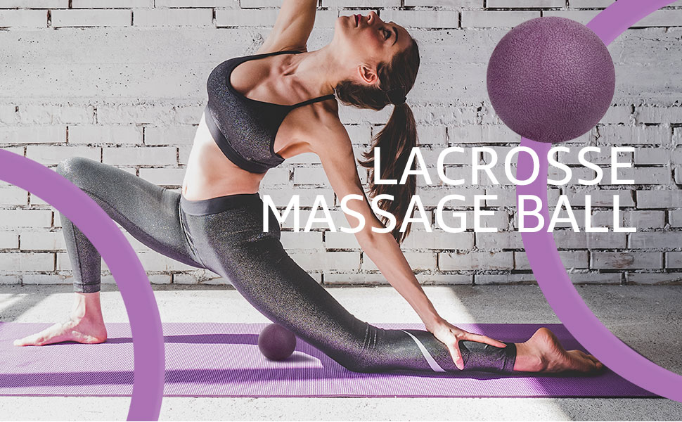 Lacrosse massage ball included