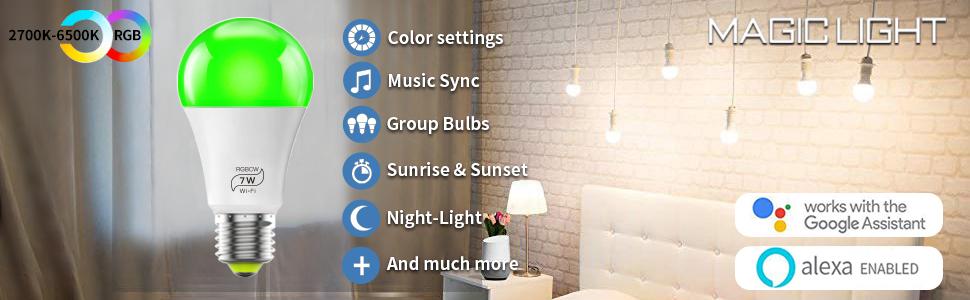 wifi light bulb