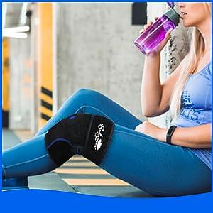Bodyprox Adjustable Knee Support Brace