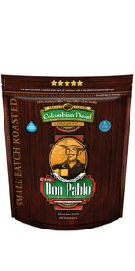 2LB Don Pablo Colombain Decaf