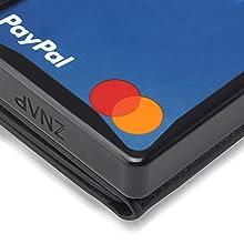 Geldscheinfach Money Bill Scheinefach  Mini Wallet Smart Wallet geldbörse damen geldklammer herren