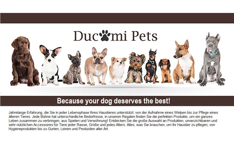 Ducomi Adidog Hunde Hoodie Kapuzenpullover aus weicher Baumwolle XS bis 8XL Versand aus DE