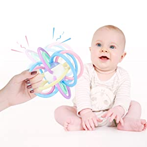 Multi-surface teething teether perfect for assisting in the eruption of front, middle and back teeth