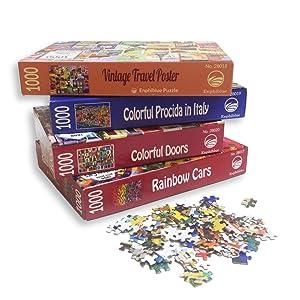 enphiblue puzzle colorful series