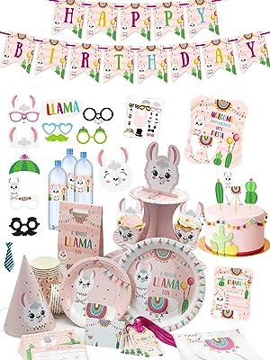 llama birthday party supplies,llama decor