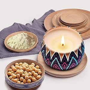 Pure soybean wax