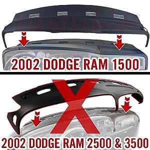 Dodge ram truck dash cover