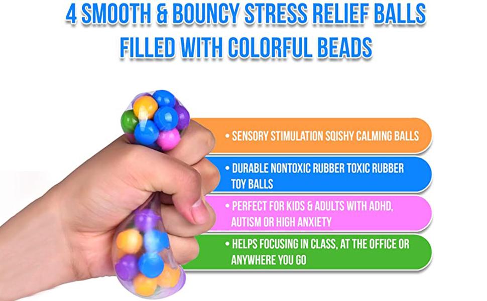 DNA Squish Stress Balls