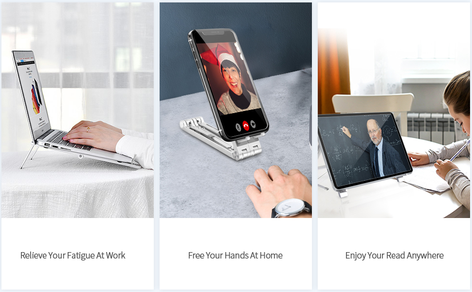Fit most laptop, iPad, Smartphone