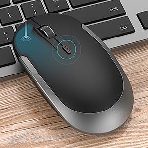 Wireless Mouse Adjustable DPI