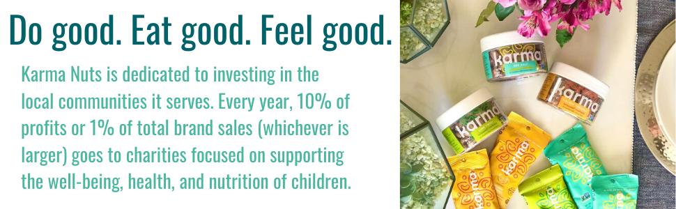 Do good. Eat good. Feel good.