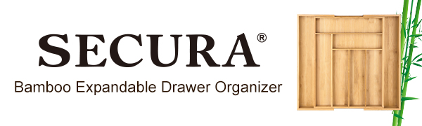 Secura drawer organizer