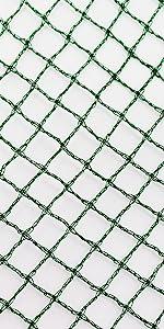 Netz 5 m x 10 m Masche 8 cm Teichnetz Techschutznetz Vogelschutznetz Netz