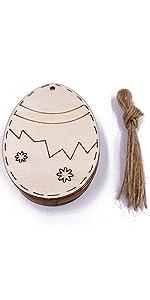 wood egg crafts