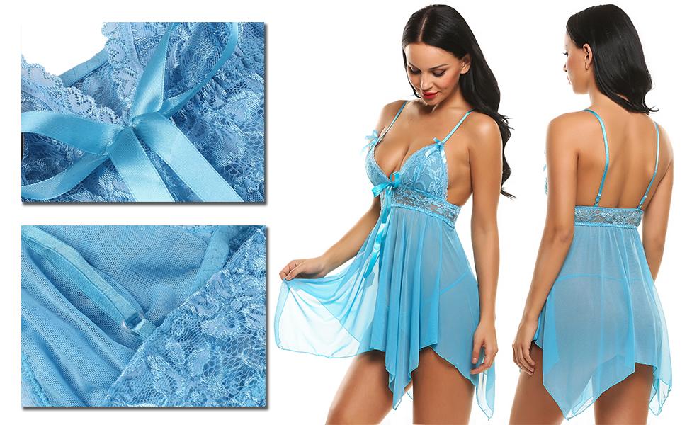 women babydoll lingerie