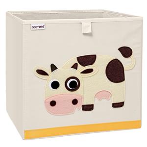 Foldable storage cubes bins