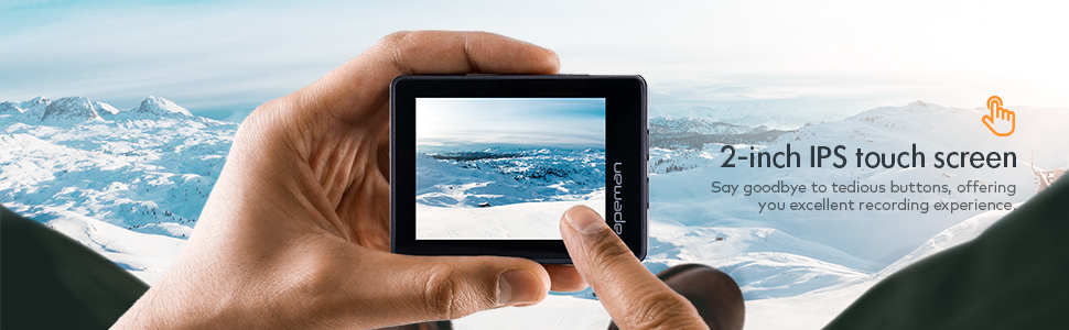 touch screen gopro camera
