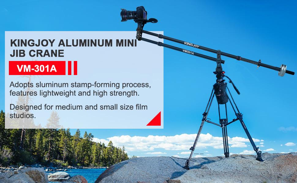 KINGJOY Professional Aluminum Mini Jib Crane - VM-301A