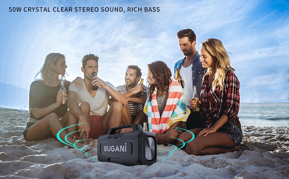 50W Bluetooth speaker