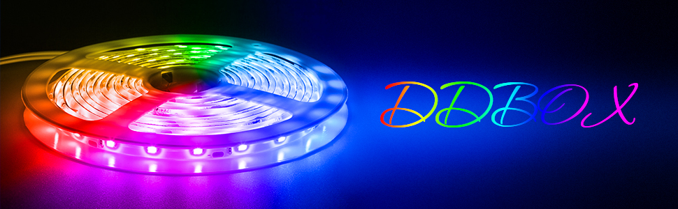 DDBOX LED strip lights