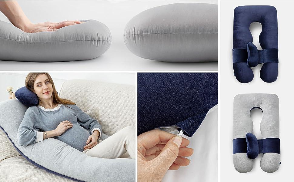 u shaped body pillow