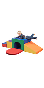 ecr4kids softzone tunnel maze climber gross motor skills active play indoor obstacle course