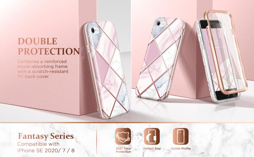 iPhone SE 2020/7/8 IMD CASE