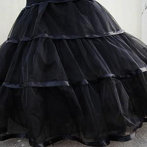 mermaid crinoline petticoat