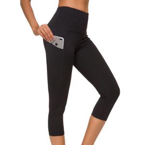 Custers Night Out Pocket High Waist Yoga Pants,Tummy Control,Pocket Workout Yoga Pant