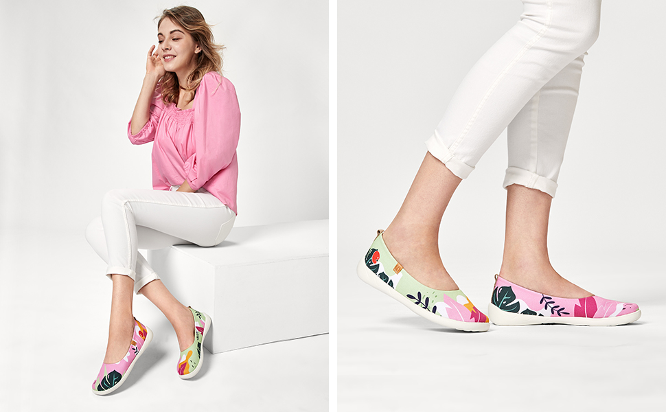 uin women canvas shoes