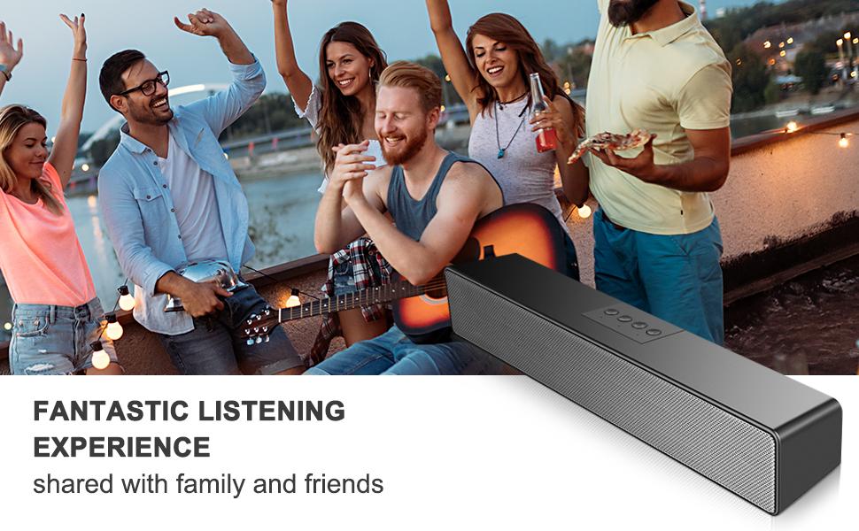 desktop speaker bar desktop speaker with microphone usb speaker bar