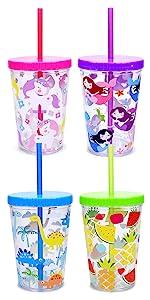 kids water beverage drinking cup