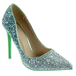 pompe glitter verdi