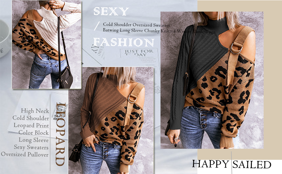 leopard sweaters