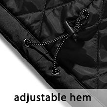 Wantdo M/ädchen Skijacke Outdoor Winterjacke Fleece Regenmantel Outwear