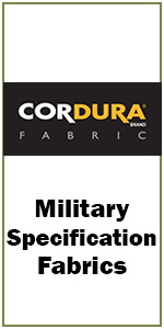 Cordura nylon military fabric