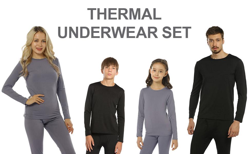 women man thermal underwear